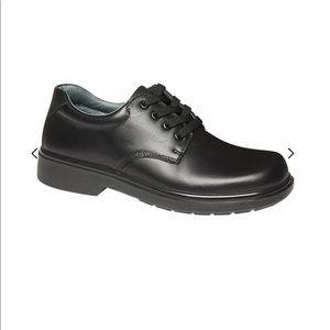 Clarks leather school shoes Daytona Snr sz6C GUC